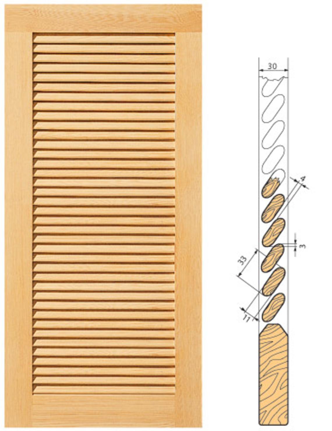 A. BLANK GmbH: Fensterladen aus Holz